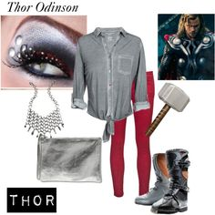 """""""Girls Thor Outfit"""" by lizzieroo on Polyvore"""