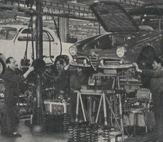 1958 ALFA ROMEO GIULIETTA PRODUCTION LINE