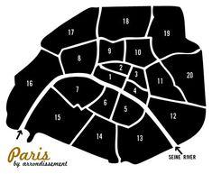 Tour de France: Paris by Arrondissement   Prêt à Voyager
