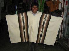 Peruvian Ponchos… I had one just like this… Inka, Hippie Boho, Rockabilly, Classy, Blazer, How To Wear, Peru, Beauty, Style