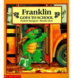 Franklin books By Paulette Bourgeois
