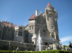 A castle in downtown Toronto....