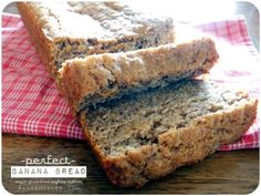 Perfect Banana Bread -  #vegan #glutenfree #soyfree #nutfree
