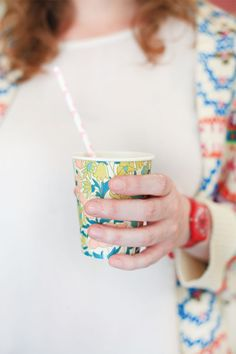 chicest paper cups #camillestyles