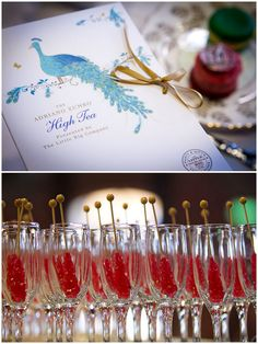 Rock Candy....I love the idea of using rock candy as a stir stick!