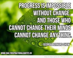 change is progress quotes - Google Search