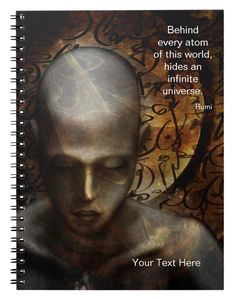 Shop Zazzle's New Age notebooks and journals. Spiritual Enlightenment, Spiritual Quotes, Spirituality, Guided Mindfulness Meditation, Deep Meditation, Positive Attitude, Positive Quotes, Infinite Universe, I Cant Sleep