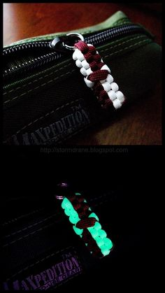 Stormdrane's Blog: Glow-in-the-dark paracord
