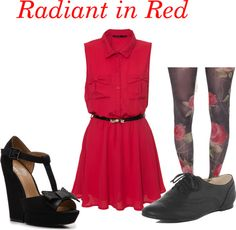 Radiant in Red #red #fashion