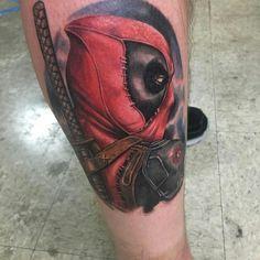 My deadpool tattoo