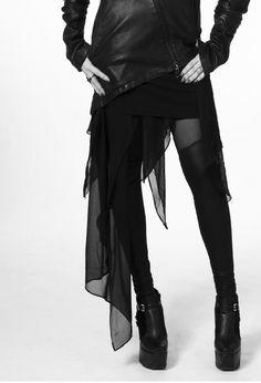 I'd wear the shorter part of the skirt a little longer... but love anyway