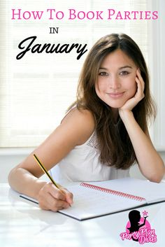 """It isn't too soon to start thinking ahead! Start booking January parties now and do not suffer a """"month that starts with J"""" slump!"""