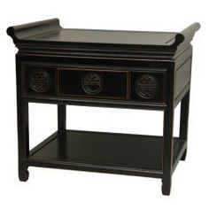 Rosewood 22-inch Antique Black Altar Table (China) | Overstock.com Shopping - Top Rated Coffee, Sofa & End Tables
