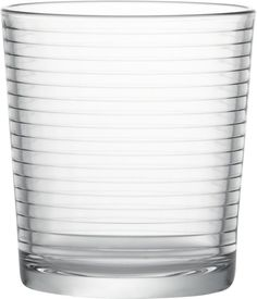 Rings 12 oz. Double Old-Fashioned Glass in Bar and Drinking Glasses | Crate and Barrel