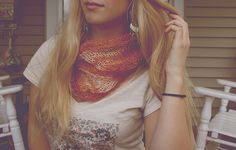 how to : gossamer infinity scarf | erin kate archer