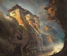 The Remote Monastery by najtkriss.deviantart.com on @deviantART