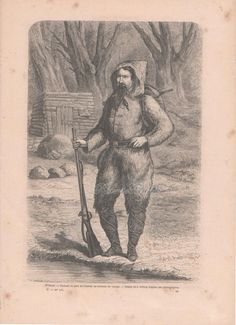 French Engraving from 1860 The Expedition's by reveriefrance