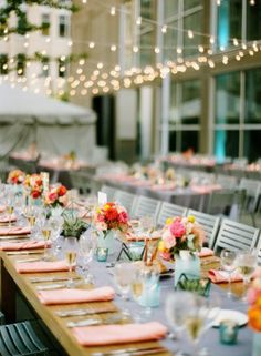 """Herein lies the major difference between """"Day-of Wedding Coordination"""" and """"Month-of Wedding Coordination."""" To clarify, our friend Ashley La Fleur of La Belle Fleur Events unravels the confusion many couples are experiencing. Mod Wedding, Wedding Reception, Reception Table, Reception Ideas, Event Planning, Wedding Planning, Wedding Ideas, Wedding Inspiration, Event Lighting"""