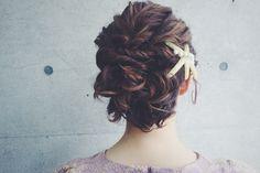 guest snap hair arrange