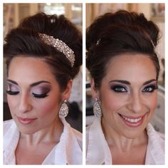 Bridal Trial for my Glam Bride - Hair & Makeup by Dee