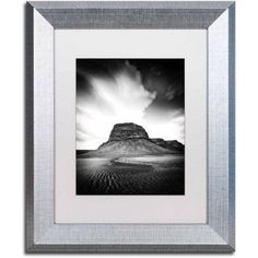 Trademark Fine Art 'Dawn of a New Day' Canvas Art by Philippe Sainte-Laudy, White Matte, Silver Frame, Size: 11 x 14, Multicolor