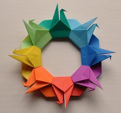Origami Modular Star Ball Varios Colores 45 Por OrigamiDelights