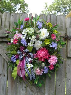 Spring Wreath Summer Wreath French Cottage by IvySageDesigns, $149.99