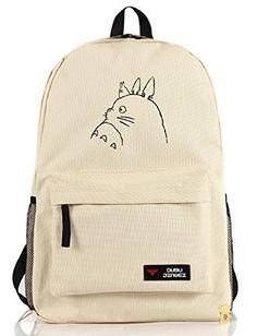 Siawasey My Neighbor Totoro Anime Cartoon Cosplay Backpac... Patrón De  Mochila befa923fff0