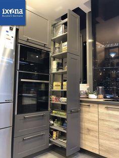 Kitchen Cupboard Designs, Kitchen Room Design, Diy Kitchen Storage, Modern Kitchen Cabinets, Modern Kitchen Design, Kitchen Layout, Home Decor Kitchen, Interior Design Kitchen, Making Kitchen Cabinets