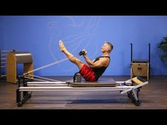 Reverse Teaser with Arm Work on Reformer - YouTube