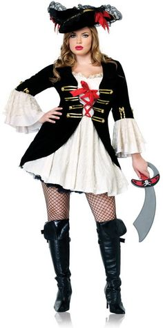 Womens Swashbuckler Pirate Costume