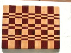End grain cutting boards (with special mistakes)