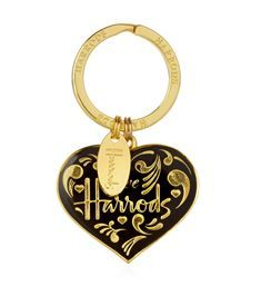 View the Love Harrods Enamel Key Ring