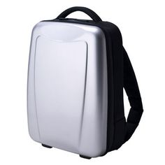 Hybrid Gear Backpack Silver, $82, now featured on Fab.