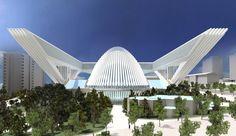 Estilo  Hoy se considera a Calatrava como uno de los arquitectos especializados en grandes estructuras. Contrariamente a lo que es habitual en muchos arquitectos, que ocultan las estructuras de sus edificios, Calatrava, como ingeniero que es