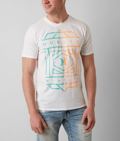 Hurley Everlast Dri-Fit T-Shirt - Men's T-Shirts in White   Buckle