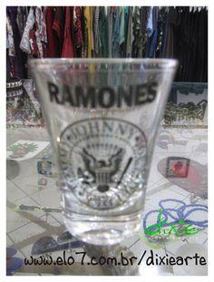 Copo ShotRamones R$ 20,00