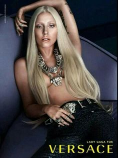 """Lady Gaga + Versace = #FASHION Icons ("""""""") ("""""""") <3 ;)*"""