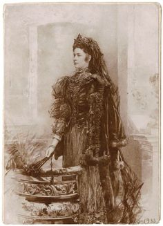 "Sketch by unknown artist of Empress Elisabeth ""Sissi"" (Elisabeth Amalie Eugenie) (24 Dec 1837-10 Sep 1898) Bavaria. Sissi was the wife of Emperor Franz Joseph I (18 Aug 1830-21 Nov 1916) Austria."