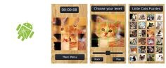 FREE GAMES - Little Cats Puzzles http://nensi.net/android-games/