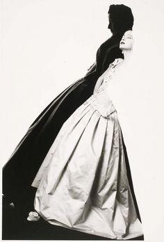 Betty Lago Wearing Chanel by David Seidner