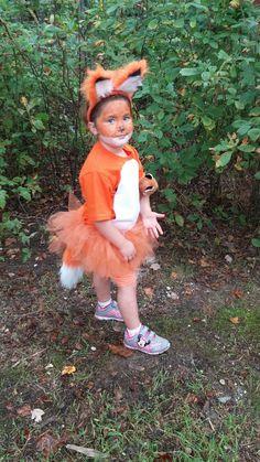 Fox tutu costume this year!