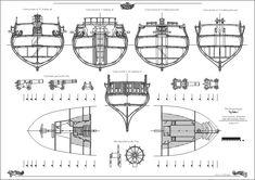 The plans of 20 gun Ship HMS Sphynx, a Royal Navy frigate, built at Portsmouth 1775