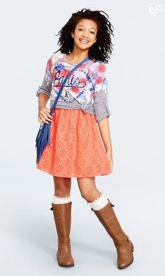 Layer on a top to make it a skirt! You May Also LikeWhat's HOT Girl Fashion Style, Fashion 101, School Fashion, Kids Fashion, Fashion Outfits, Outfits For Teens, Cute Outfits, Stylish Outfits, Summer Outfits