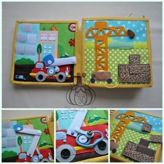 quiet book page Personal wishes Simple Pages Personalized