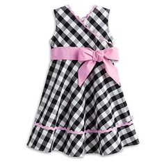 American Girl® Clothing: Gingham Party Dress for Girls