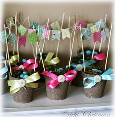 This art that makes me happy: Spring/Easter Peat Moss baskets