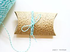 Imagine these filled with peacock colored mints!!    10 Peacock Embossed Pillow Boxes Jewelry Boxes by papirvendage, $7.25