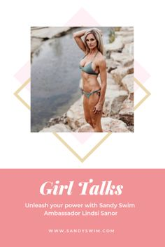 Girl Talks with Sandy Swim Ambassador Lindsi Sanor. Unleash your hidden power, and transform your life with Lindsi Sanor Fitness. Beach Reading, Certified Personal Trainer, Transform Your Life, Body Image, How To Stay Motivated, Best Self, Swimming, Exercise, Girl Talks