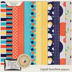 Liquid Sunshine {papers} :: Papers :: Memory Scraps